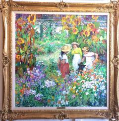 Sotiris Corzo Children In Sunflower Garden - 1215669