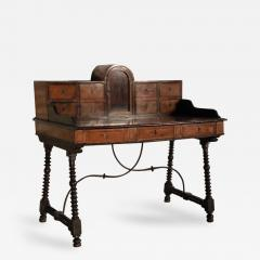 Spanish 17th Century Campaign Desk - 356529