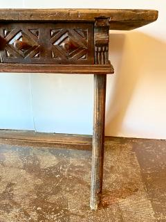 Spanish Colonial Writing Table or Console c 1790 1800 - 1772030