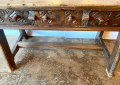 Spanish Colonial Writing Table or Console c 1790 1800 - 1772032