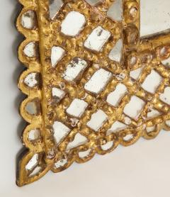 Spanish Gilded and Carved Petite Wood Mirror - 1519147