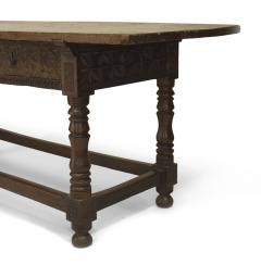 Spanish Renaissance Oak Refectory Table - 1429669