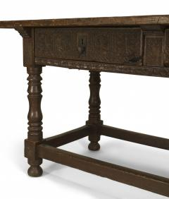 Spanish Renaissance Oak Refectory Table - 1429670