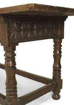 Spanish Renaissance Oak Refectory Table - 1429671