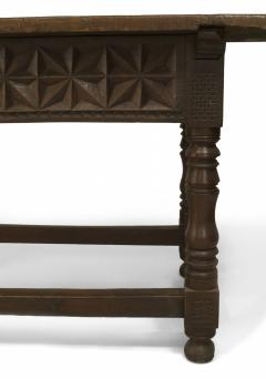 Spanish Renaissance Oak Refectory Table - 1429672