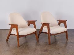 Spectacular American Walnut Armchairs - 744449