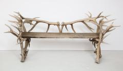 Spectacular Antler Chair Bench  - 1023146