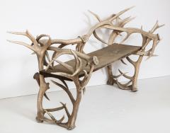 Spectacular Antler Chair Bench  - 1023147