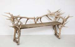 Spectacular Antler Chair Bench  - 1023148