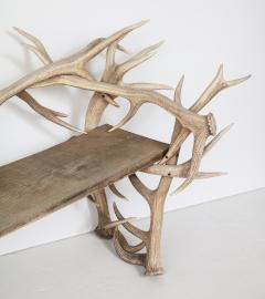 Spectacular Antler Chair Bench  - 1023151
