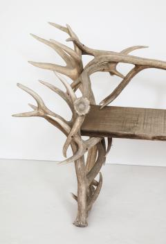 Spectacular Antler Chair Bench  - 1023155