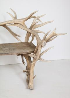 Spectacular Antler Chair Bench  - 1023156
