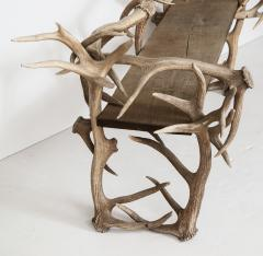 Spectacular Antler Chair Bench  - 1023161