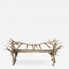 Spectacular Antler Chair Bench  - 1023993