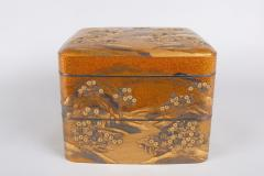 Spectacular Incense Box Hills and River Gold and Silver Chrysanthemums - 1319993