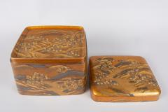 Spectacular Incense Box Hills and River Gold and Silver Chrysanthemums - 1320063