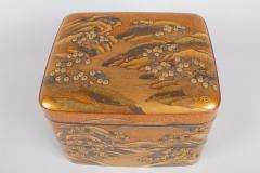 Spectacular Incense Box Hills and River Gold and Silver Chrysanthemums - 1320065