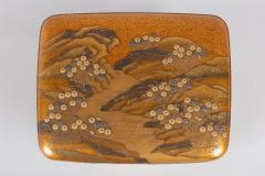 Spectacular Incense Box Hills and River Gold and Silver Chrysanthemums - 1320077