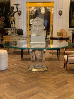 Spectrum Lucite Dining Table Base - 1221188