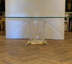 Spectrum Lucite Dining Table Base - 1221189