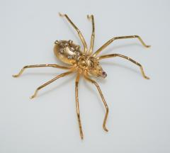 Spider 18 K Gold and Diamonds Brooch - 1124171