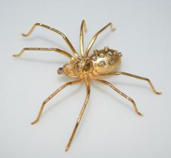 Spider 18 K Gold and Diamonds Brooch - 1124172