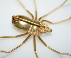 Spider 18 K Gold and Diamonds Brooch - 1124175