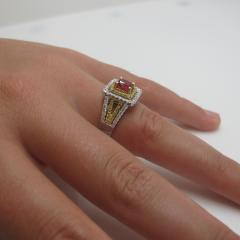 Spinel and Diamond Ring - 1108250