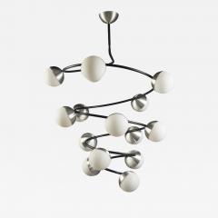 Spiraling Chandelier Italy 1970s - 530043