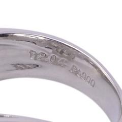 Square Baguette Diamond Platinum Ring - 2061040