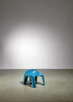 Stacy Dukes Blue polyester Stacy Dukes stool USA 1960s - 1143182