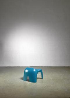 Stacy Dukes Blue polyester Stacy Dukes stool USA 1960s - 1143183
