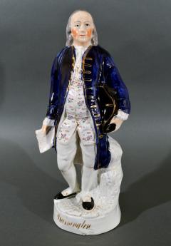 Staffordshire Figure of Franklin named Washington - 1728073