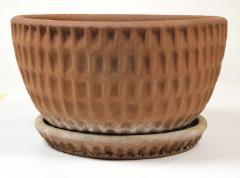 Stan Bitters Stan Bitters Ceramic Thumb Pot Planter for Hans Sumpf with Original Saucer - 1085241