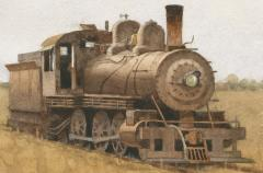 Stan Masters Old Loco - 1392979