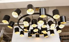 Stan Usel Contemporary Chandeliers circular by Stan Usel - 1196686
