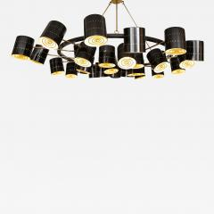 Stan Usel Contemporary Chandeliers circular by Stan Usel - 1197031