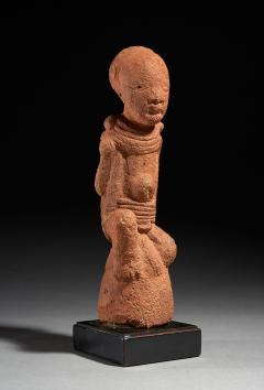 Standing Intact 2000 year old Terracotta Figure Nok Culture Nigeria - 2133996