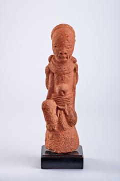 Standing Intact 2000 year old Terracotta Figure Nok Culture Nigeria - 2133997
