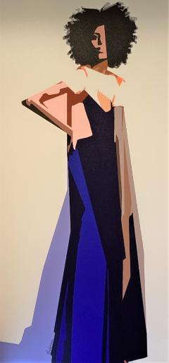 Standing Woman Painting by Dale Hackerman - 2135337