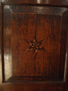 Star Inlaid Wall Cupboard - 664878