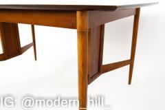 Statesville Chair Company Mid Century Walnut Surfboard Dining Table - 1869658