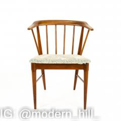 Statevilles Chair Company Mid Century Walnut Dining Chairs Set of 6 - 1869862