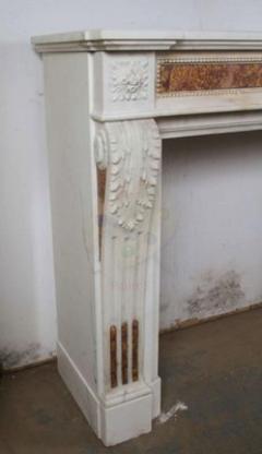 Statuary Marble Mantle - 513378