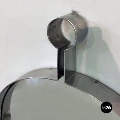 Steel circular mirror 1970s - 1968324