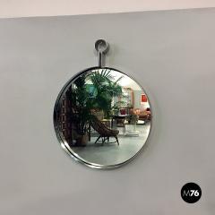 Steel circular mirror 1970s - 1968325