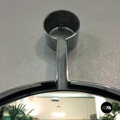 Steel circular mirror 1970s - 1968329