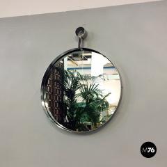 Steel circular mirror 1970s - 1968330