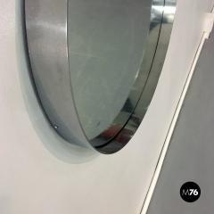 Steel circular mirror 1970s - 1968355