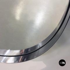 Steel circular mirror 1970s - 1968357
